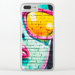 Street Art Clear iPhone Case