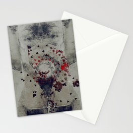 the violent misery of everything lost Stationery Cards