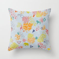 Tribal Inspired Throw Pillow