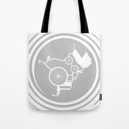 LifeCycle (spiral) Tote Bag