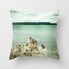 Timeless sea Throw Pillow