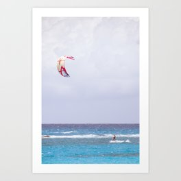 kite surfin' Art Print