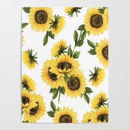 Lovely Sunflower Poster