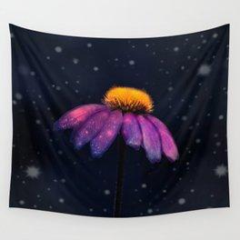 Digital Flower Wall Tapestry