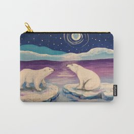 Polar Bears Carry-All Pouch