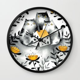 Secret Wall Clock