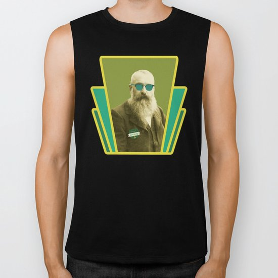 s6 tee : Claude Monet would have loved to be on s6  Biker Tank