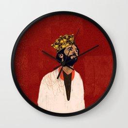 Mo Salah the Egyptian king Wall Clock