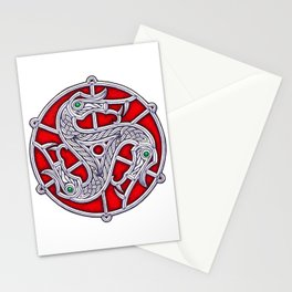 Vendel Triskele Stationery Cards