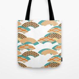 Geometry wind pattern Tote Bag
