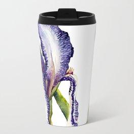 Violet Iris Travel Mug