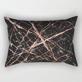 Copper Splatter 091 Rectangular Pillow