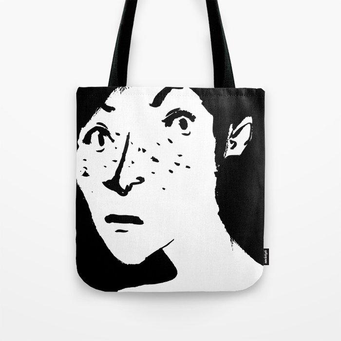 Women portrait Tote Bag