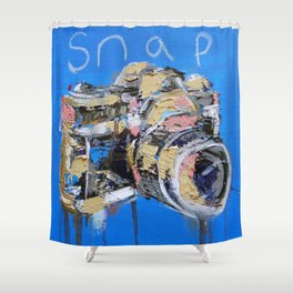 Snap Shower Curtain