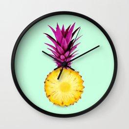 PINK PIÑA Wall Clock