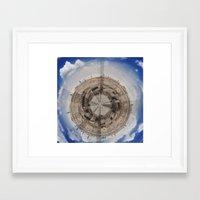 planet Framed Art Prints featuring Planet by Sébastien BOUVIER