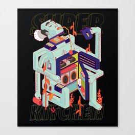 Super Kitchen 2 Canvas Print
