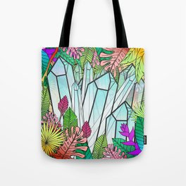 Crystal Jungle Tote Bag