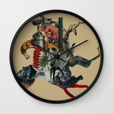 Self-digestion as a means of survival Wall Clock