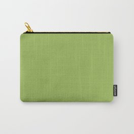 Pea Green Carry-All Pouch