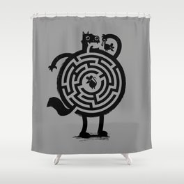 Amazin' Cat Shower Curtain