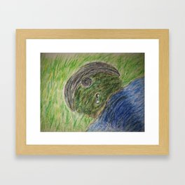 Escaping the Darkness Framed Art Print