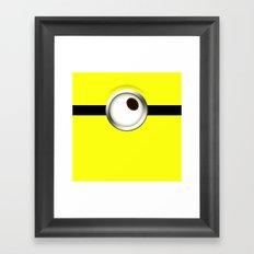 one-eye Framed Art Print