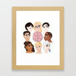 The Cluster Framed Art Print