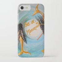 twins iPhone & iPod Cases featuring Twins by RokinRonda