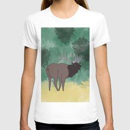 Bull Elk Bugling T-shirt