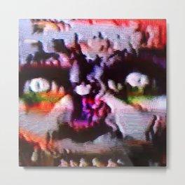 VHS .GIF Nosferatu Metal Print