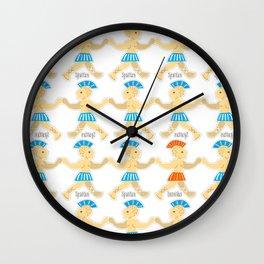 Syrtaki dance Wall Clock