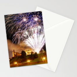 Castle Illuminations Inverness Scotland Stationery Cards