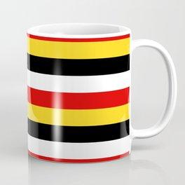 East Timor Papua New Guinea flag stripes Coffee Mug