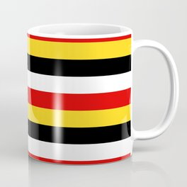 East Timor Papua New Guinea flag stripes Coffee Mug