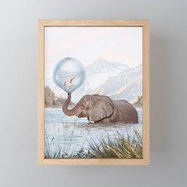 In a Bubble Framed Mini Art Print