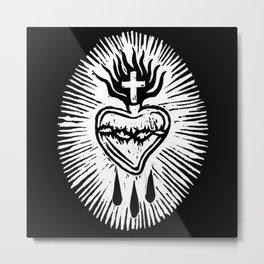sacro cuore Metal Print