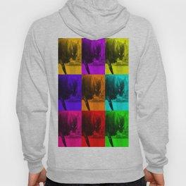 Chilly da Cat Collage POP ART Hoody