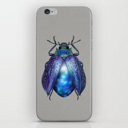 Black Opal Beetle iPhone Skin