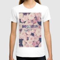 bonjour T-shirts featuring Bonjour by Création Numérique du Rocher