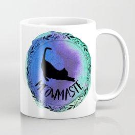 Meowmaste Yoga Cat Coffee Mug