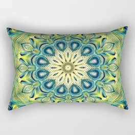 Flower Of Life Mandala (Spring Love) Rectangular Pillow