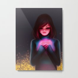 Morvster as Frisk Metal Print