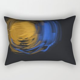Abstract - ब्रह्माण्ड Brahmand Rectangular Pillow