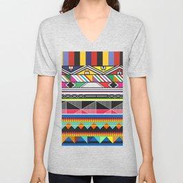 Colorful Vibe Unisex V-Neck