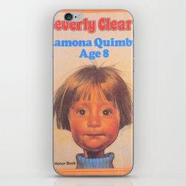 Ramona Quimby Age 8 iPhone Skin