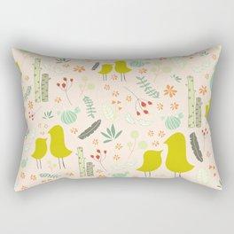 Love Like Birds Rectangular Pillow