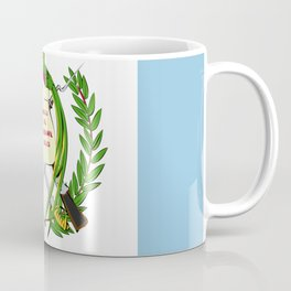 Guatemala flag emblem Coffee Mug
