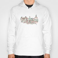 rome Hoodies featuring Rome by Ursula Rodgers