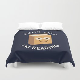All Booked Up Duvet Cover
